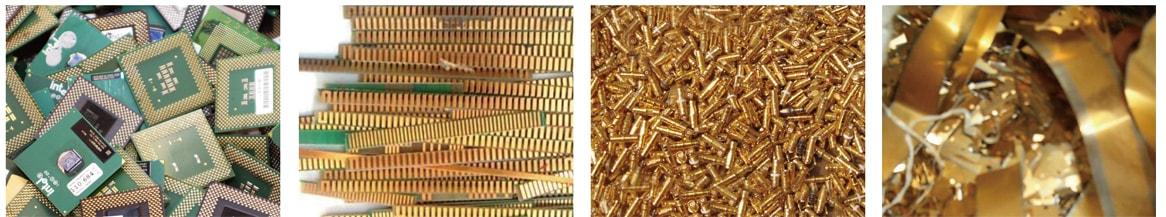 黄金退镀处理设备适用原料