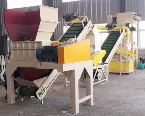 废铜铝散热器再利用生产线