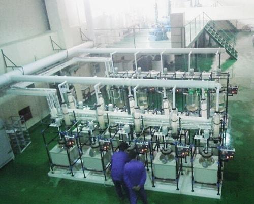 废汽车三元催化剂再利用生产线